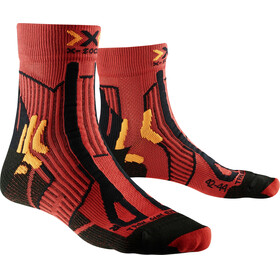 X-Socks Trail Run Energy Hardloopsokken Heren rood